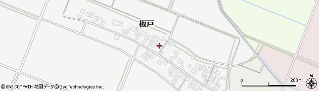 山形県酒田市板戸福岡113周辺の地図