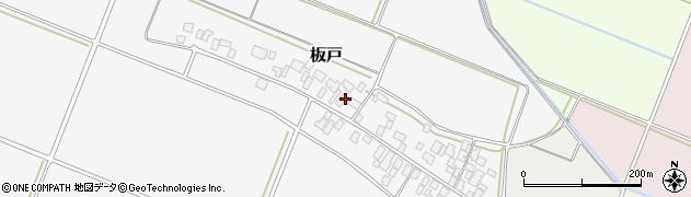 山形県酒田市板戸福岡112周辺の地図