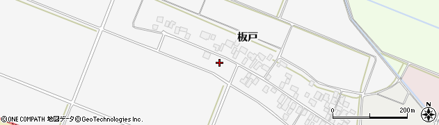 山形県酒田市板戸福岡56周辺の地図