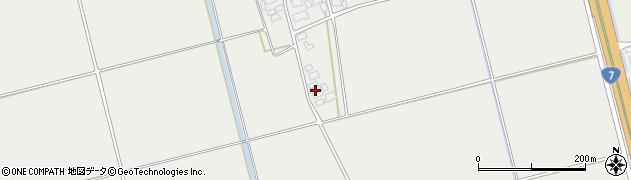 山形県酒田市広野下中村42周辺の地図