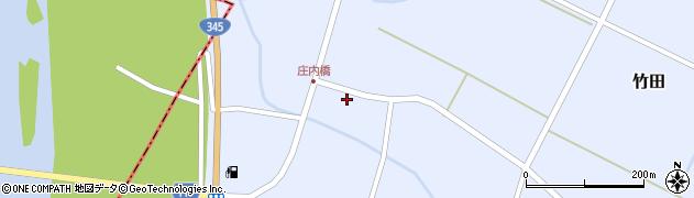 山形県酒田市竹田竹ノ下7周辺の地図