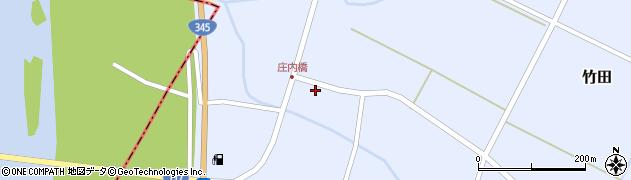山形県酒田市竹田竹ノ下8周辺の地図