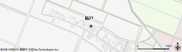 山形県酒田市板戸福岡103周辺の地図