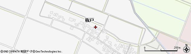 山形県酒田市板戸福岡周辺の地図