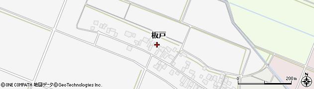 山形県酒田市板戸福岡104周辺の地図