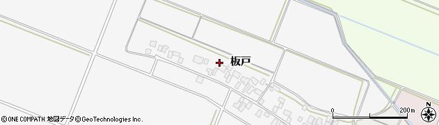 山形県酒田市板戸福岡93周辺の地図