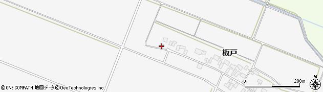 山形県酒田市板戸福岡76周辺の地図