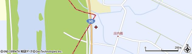 山形県酒田市竹田201周辺の地図