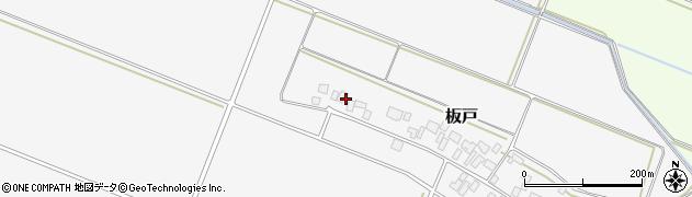 山形県酒田市板戸福岡80周辺の地図