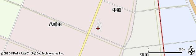 山形県酒田市木川中道101周辺の地図