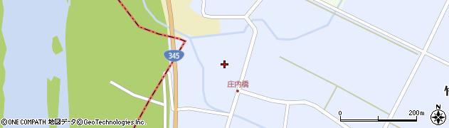山形県酒田市竹田竹ノ下46周辺の地図