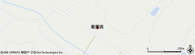 岩手県一関市花泉町金沢東要害周辺の地図