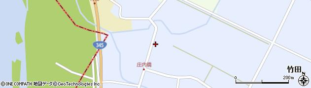 山形県酒田市竹田竹ノ下36周辺の地図
