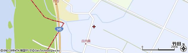 山形県酒田市竹田竹ノ下37周辺の地図