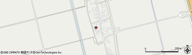 山形県酒田市広野下中村86周辺の地図