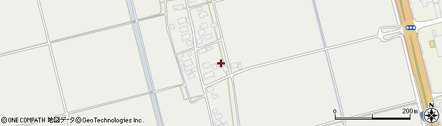 山形県酒田市広野下中村78周辺の地図