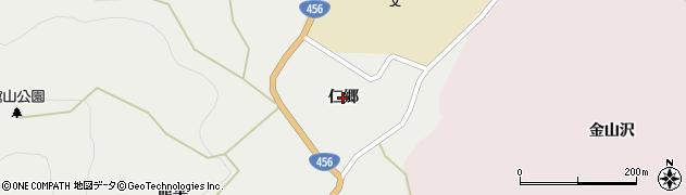 岩手県一関市藤沢町藤沢(仁郷)周辺の地図
