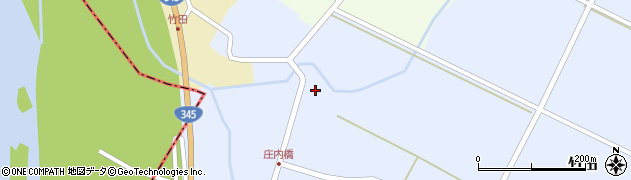 山形県酒田市竹田竹ノ下周辺の地図