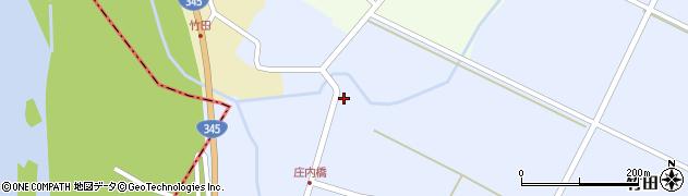 山形県酒田市竹田竹ノ下39周辺の地図