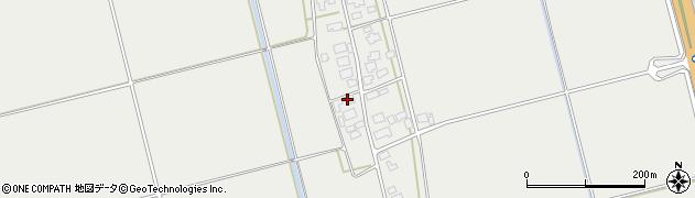 山形県酒田市広野下中村96周辺の地図