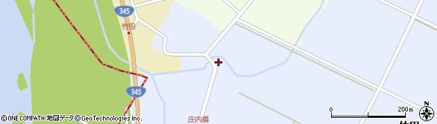 山形県酒田市竹田竹ノ下41周辺の地図