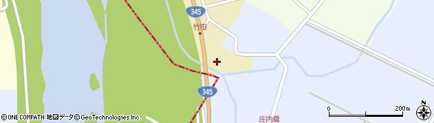 山形県酒田市中牧田山岸102周辺の地図
