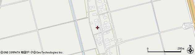 山形県酒田市広野下中村104周辺の地図