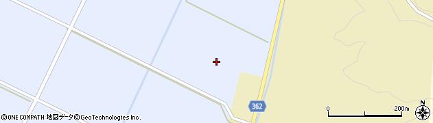 山形県酒田市竹田新堰周辺の地図