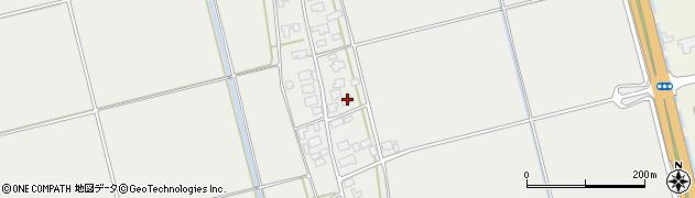 山形県酒田市広野下中村118周辺の地図