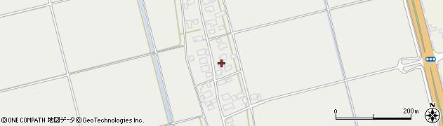 山形県酒田市広野下中村117周辺の地図