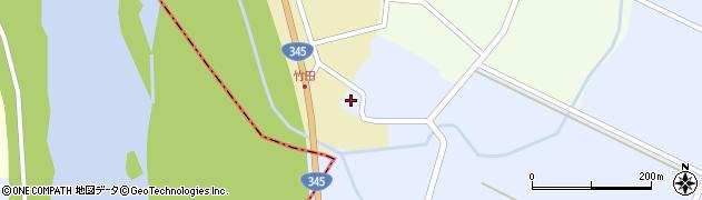 山形県酒田市竹田竹ノ下66周辺の地図