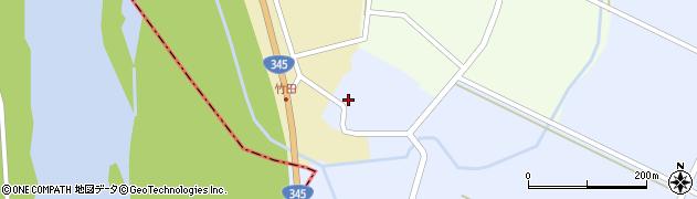 山形県酒田市竹田竹ノ下64周辺の地図