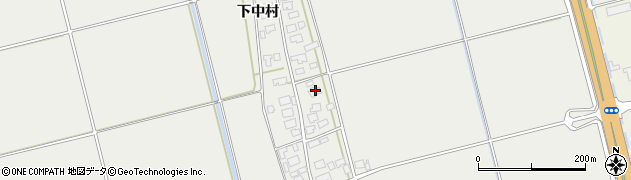 山形県酒田市広野下中村111周辺の地図
