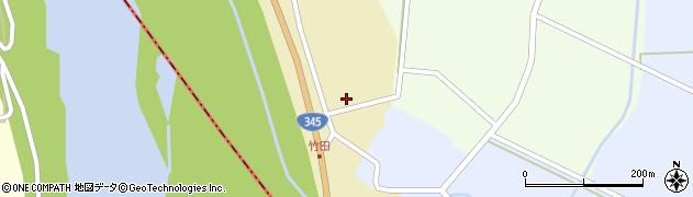 山形県酒田市中牧田山岸18周辺の地図
