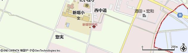 山形県酒田市木川西中道23周辺の地図
