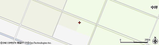 山形県酒田市新堀割田周辺の地図