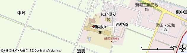 山形県酒田市木川アラコウヤ32周辺の地図