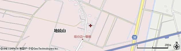 山形県酒田市坂野辺新田一番割25周辺の地図