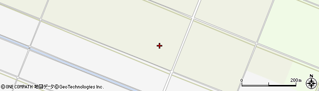 山形県酒田市落野目睦田周辺の地図