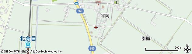 山形県東田川郡庄内町平岡平岡周辺の地図