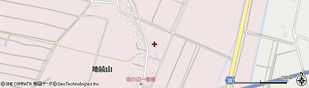 山形県酒田市坂野辺新田一番割36周辺の地図