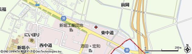 山形県酒田市木川東中道39周辺の地図