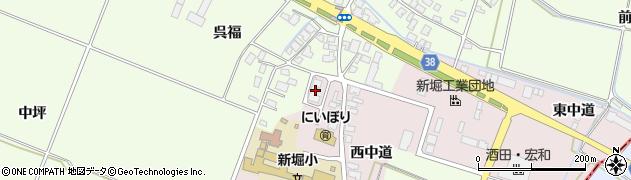 山形県酒田市木川アラコウヤ40周辺の地図