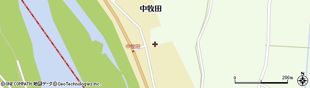 山形県酒田市相沢南森93周辺の地図