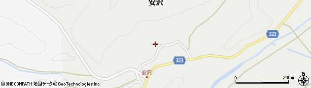 山形県最上郡金山町安沢280周辺の地図