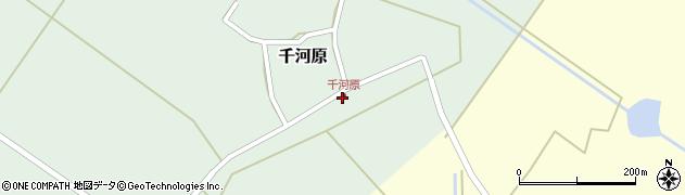 山形県東田川郡庄内町千河原前野37周辺の地図