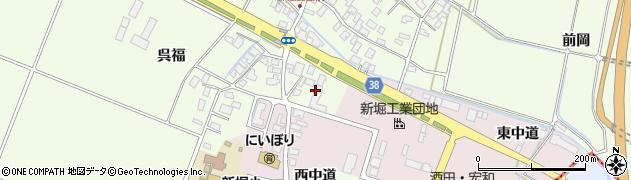 山形県酒田市新堀豊森211周辺の地図