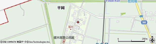 山形県東田川郡庄内町榎木小金台30周辺の地図