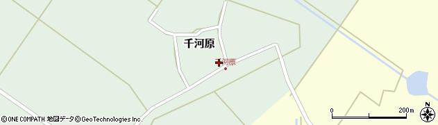 山形県東田川郡庄内町千河原前野39周辺の地図