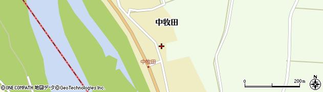 山形県酒田市中牧田前田21周辺の地図